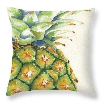 Tropical Fruit Throw Pillows