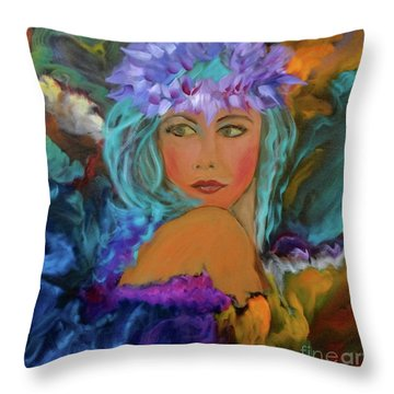Aloha Two Jenny Lee Discount Throw Pillow