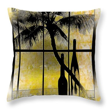 Throw Pillow featuring the photograph Aloha,from The Island by Athala Carole Bruckner