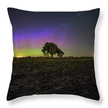 Throw Pillow featuring the photograph Alone by Aaron J Groen