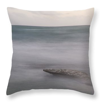 Alone Throw Pillow by Alex Lapidus