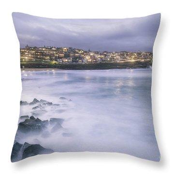 Along The Crystal Shore  Throw Pillow
