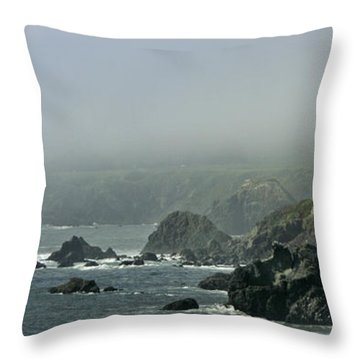 Along Route 1 Throw Pillow