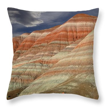Along The Paria Throw Pillow