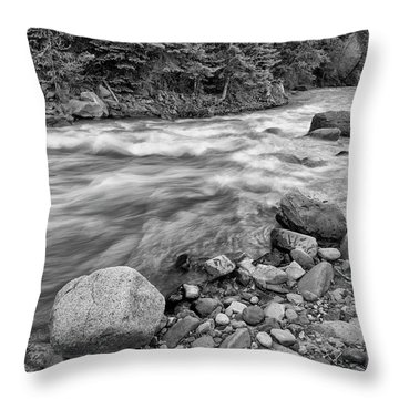 Along The Uncompaghre Throw Pillow