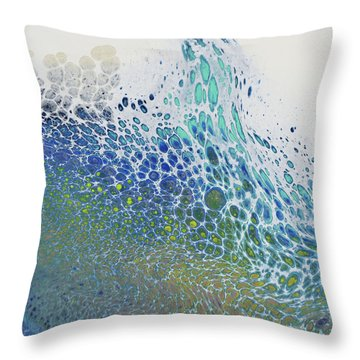 Along The Wish Filled Shore Throw Pillow