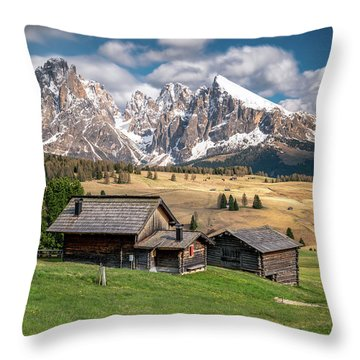 Alpe Di Suisi Cabin Throw Pillow