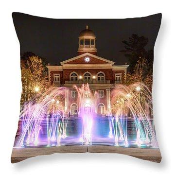 Alpharetta City Hall Throw Pillow