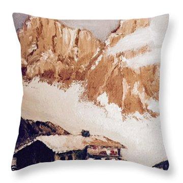 Alpine Home  Throw Pillow
