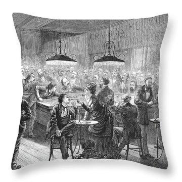Alsace-lorraine, 1872 Throw Pillow by Granger