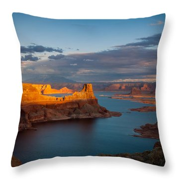 Alstrom Point Lake Powell Throw Pillow