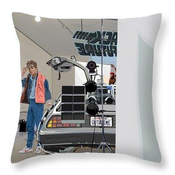 Alt. Poster Angle Throw Pillow by Kurt Ramschissel