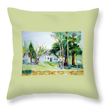 Alta/dutch Flat School Throw Pillow