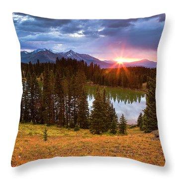Alta Lakes Throw Pillow
