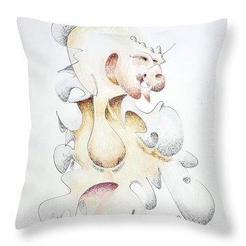 Alternate Speaker Throw Pillow