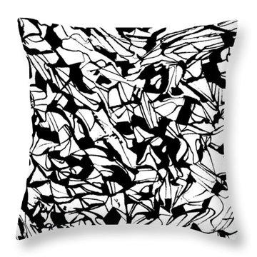 Alternate Topography 1 Throw Pillow