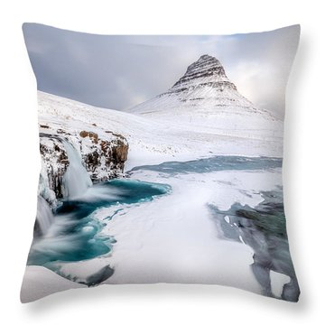 Frost Throw Pillows