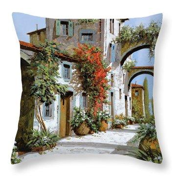 Altri Archi Throw Pillow