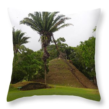 Altun Ha #2 Throw Pillow