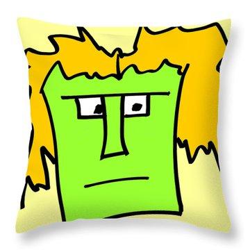 Alv Throw Pillow by Jera Sky