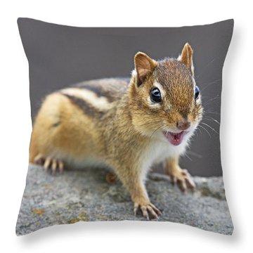 Alvinnn... Throw Pillow