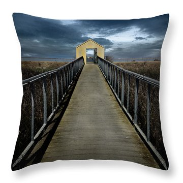 Alviso, California Throw Pillow