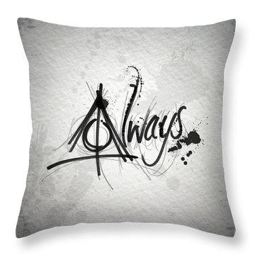 Alway Throw Pillow