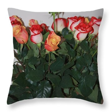 Throw Pillow featuring the photograph Always A Rose by Vadim Levin