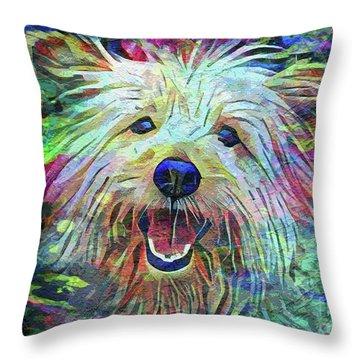 Cairn Terrier Throw Pillows