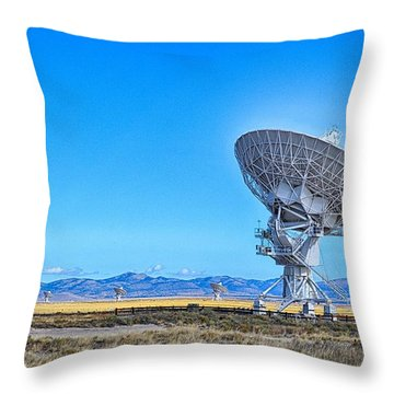 Always Listening Throw Pillow