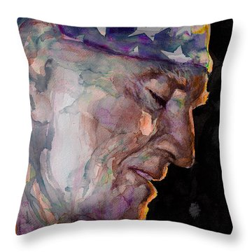 Always On My Mind 3 Throw Pillow by Laur Iduc