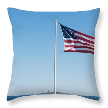 Always Remember Our Fallen Throw Pillow