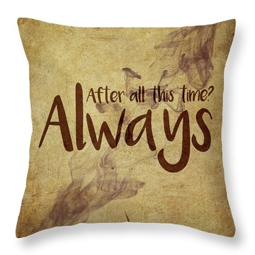 Snape Throw Pillows