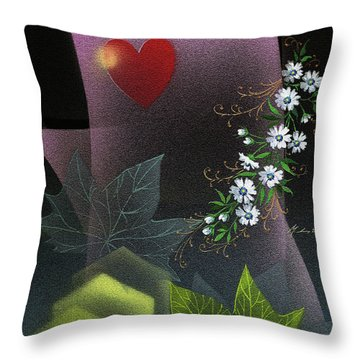 Always Spring For Love Throw Pillow