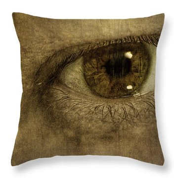 Always Watching Throw Pillow