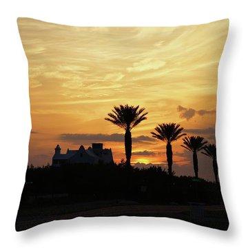 Alys At Sunset Throw Pillow