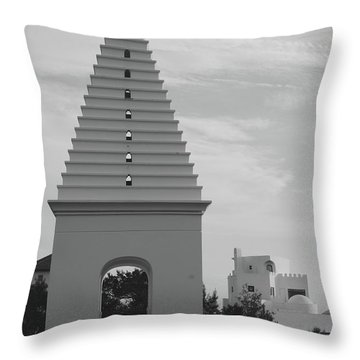 Alys Beach Butteries Throw Pillow by Megan Cohen