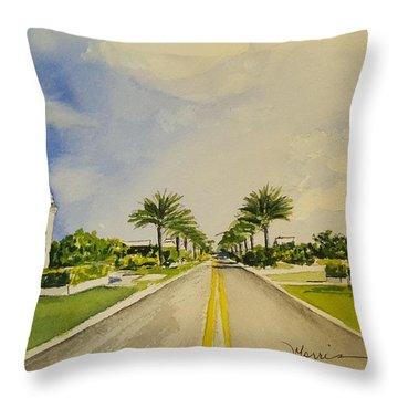 Alys Beach, Florida Throw Pillow
