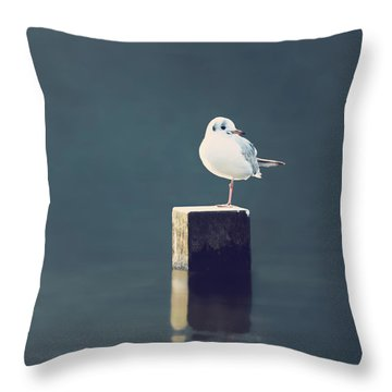 Am I Alone Throw Pillow