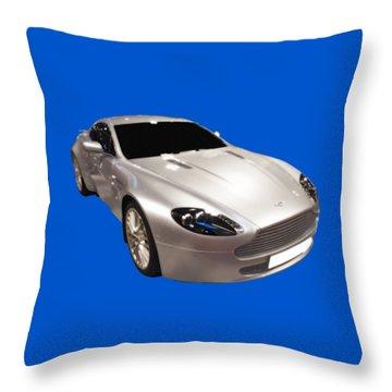 Am Sports Car Art Throw Pillow