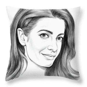 Amal Clooney Throw Pillow