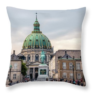 Amalienborg Throw Pillow