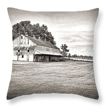 Amana Colonies Farm House Throw Pillow