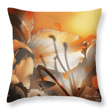 Amanecer  Throw Pillow