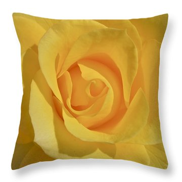 Amarillo Throw Pillow by Gwyn Newcombe