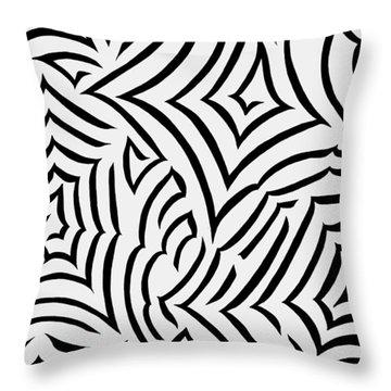 Amazed Throw Pillow by Tara Hutton