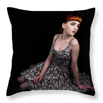 Amazing Beauty Throw Pillow