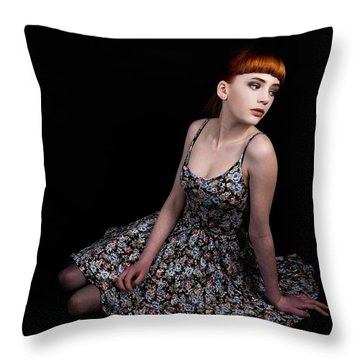 Amazing Beauty Throw Pillow