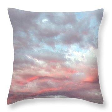 Soft Clouds Throw Pillow