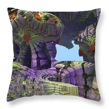 Amazing Construct Throw Pillow